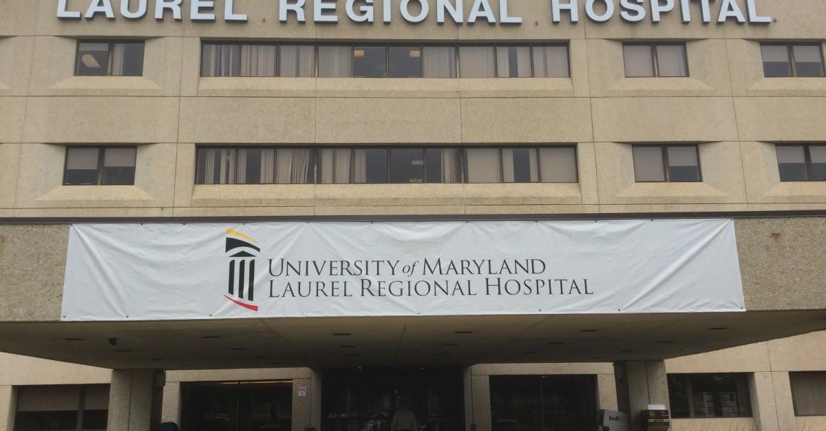 University of Maryland Laurel Regional Hospital Files Plan