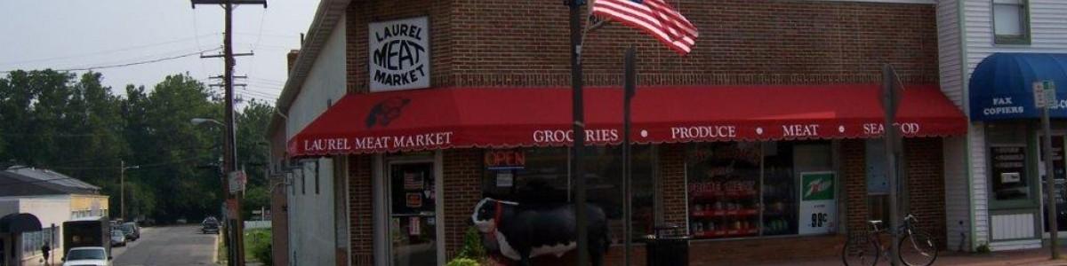 Historic District - Laurel Meat Market